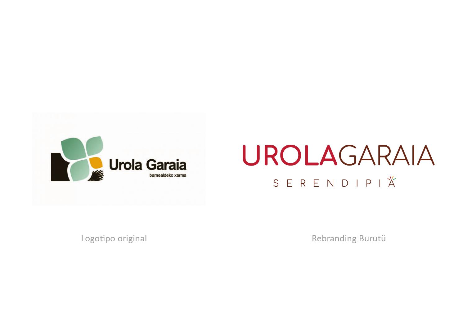 Urola Garaia Rebranding