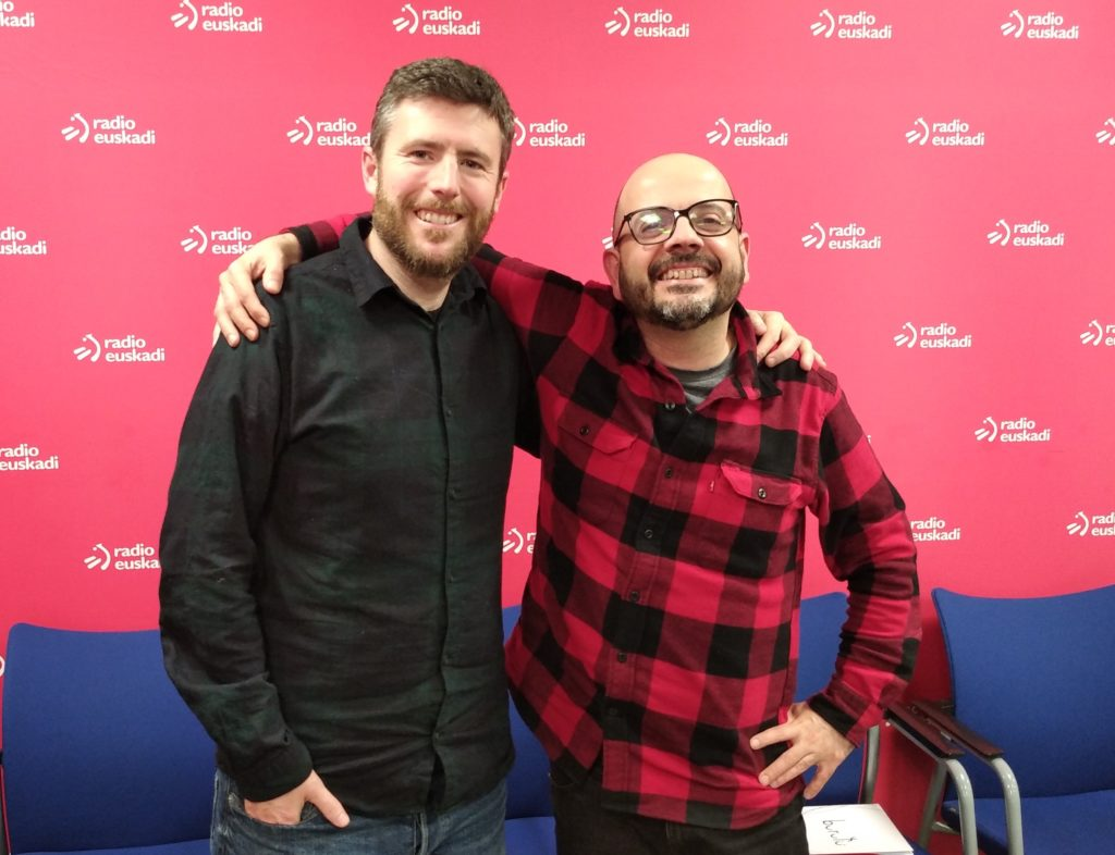Josu Bergara y Galder Pérez en Radio Euskadi